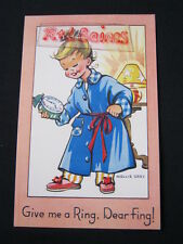 Give Me A Ring, Dear Fing! Mollie Grey, Postcard