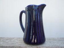 Pichet porcelaine bleu Sevres d'époque 19ème