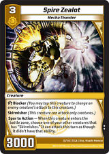 Kaijudo X3 SPIRE ZEALOT Uncommon #12/110 7CLA (Playset) Clash of the Duelmasters
