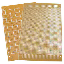 20 x Universal Prototype Printed Circuit Panel PCB 12x18cm 120x180mm Board FR2