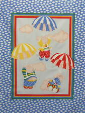 """Baby Panel Cheater Quilt Top, BP26,""""Flying Pigs"""",Quilt,Sew,Craft"""