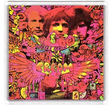 CREAM DISRAELI GEARS 1967 LP COVER FRIDGE MAGNET IMAN NEVERA