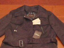 NWT $595 COLE HAAN wool lined, sateen TRENCHCOAT eco wise JACKET WOMENS sz 12