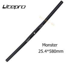 Litepro Monster MTB Mountain Road Folding Bike Handlebar Flat Bar 182g 25.4*580