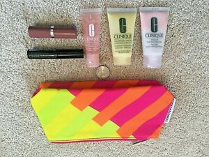 NEW Sealed Clinique 6 Piece Gift Set with Bag, Travel Size Samples
