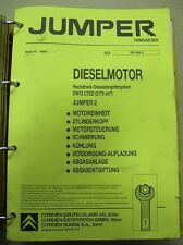 Werkstatthandbuch Reparaturleitfaden CITROEN Jumper Benzin Diesel #12219