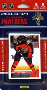 Florida Panthers 2013 2014 SCORE Factory Sealed Team Set Weiss Campbell Theodore