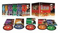 6 Six Million Dollar Man 1-5 Complete Series Collection Season 1 2 3 4 5 New DVD