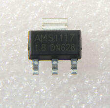 NEW 50PCS AMS1117-1.8 AMS1117 LM1117 1.8V 1A SOT-223 Voltage Regulator IC
