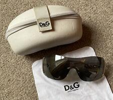 🦩 ACE GENUINE D&G DOLCE & GABBANA 8039 656/6G SUNGLASSES & CASE VGC 💗