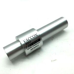 """New Vaccon DF 10-6 Material Conveying Vacuum Pump 3/8"""" NPT Bore: 1"""" L: 7.5"""""""