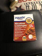 equate nicotine lozenges cinnamon