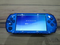 Sony PSP 3000 Console Vibrant Blue Japan M768