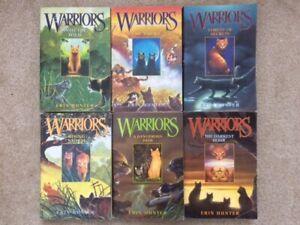 Warriors the Prophecies Begin series 1-6 set Hunter 1 2 3 4 5 6 PB lot