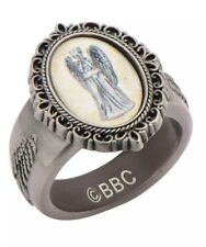 "Doctor Who Weeping Angel Cameo Ring Size ""8"""