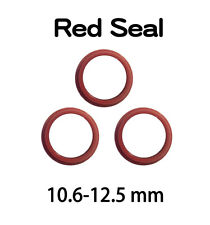 Red Seal For PG11 PGT2 IP68 Waterproof Connector Screw Joiner TUV - 3 pcs / Set