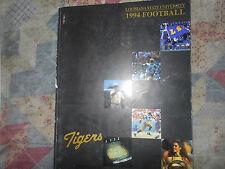 1994 LSU TIGERS FOOTBALL MEDIA GUIDE Yearbook Program Louisiana State SEC AD
