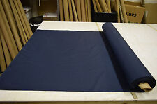 """NAVY BLUE COTTON SHIRTING FABRIC MILITARY 44""""WIDE SOLD  BY THE YARD 4.2 OZ"""