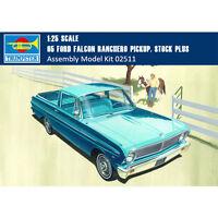 Trumpeter 02511 1/25 Scale 65 Ford Falcon Ranchero Pickup Stock Plus Model Kits