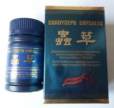 1bottle Cordyceps 30 Capsules Aweto for Anti Aging Boost Immune System Sex Power