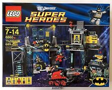 Lego DC Universe Superheroes 6860 The Batcave New Factory Sealed Box