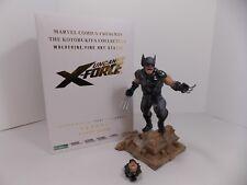 KOTOBUKIYA COLLECTIBLES UNCANNY X-FORCE WOLVERINE FINE ART STATUE 693/1200