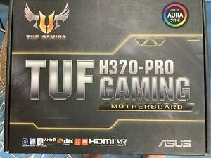 asus tuf h370-pro gaming motherboard lga 1151 8th gen intel core