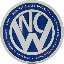 STICKER Surfing NCW CORNWALL VW HOMAGE STICKER for Van / Car / SURF BOARD (10cm)