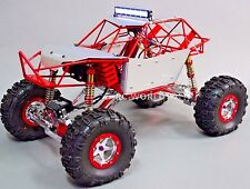 Custom AXIAL  All METAL ROCK CRAWLER Bomber Wraith 2.2 Crawler 11.1V *RTR*