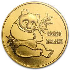 1982 China 1/4 oz Gold Panda BU (Sealed) - SKU #11954