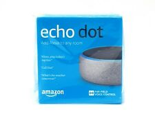 Amazon Echo Dot 3rd Generation Smart Assistant Heather Grey Fabric Speaker Alexa