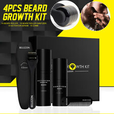 45ML Beard Growth Kit Set Facial Styling Activator Serum Oil For Father Gift