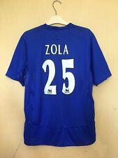 FC CHELSEA 20052006 HOME FOOTBALL JERSEY CAMISETA SOCCER MAGLIA SHIRT #25 ZOLA