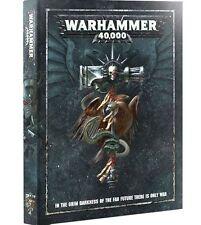 Brand New  WARHAMMER 40k 8th Edition HARDBACK RULEBOOK  Shrink Wrap / Free Ship