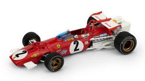 Ferrari 312 B Jacky Ickx 1970 #2 Italie Gp 1:43 Model R313C Brumm