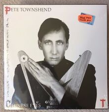 "Factory Sealed -PETE TOWNSHEND ""CHINESE EYES"" 1980 Orig 1982 Release-MINT-Atco"