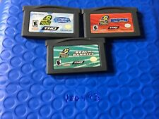 Nintendo Game Boy Advance 3 Game Nickelodeon Nicktoons Rocket Power Lot