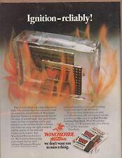 1977 Winchester Western - Primers - Cartridge Shell Gun Print Ad Vintage / n1