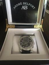 Reloj André Belfort AB-5910 Terra Nova Acero Negro