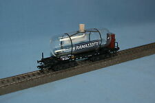"Marklin 44532 DB Glass Tanker Car 4 axled ""RAMAZZOTTI"""