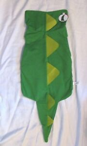 Pet Dog or Cat Green Dinosaur / Dragon Sz M New with Tag *** EASY ON AND OFF!***