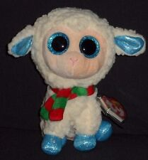 """TY BEANIE BOOS BOO'S - ARSENTIY the 6"""" LAMB / SHEEP - MINT with NEAR PERFECT TAG"""