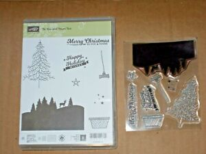 Stampin Up TO YOURS AND YOU TOO photopolymer stamp set Christmas