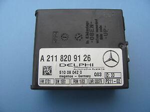 1999-2001-2006 MERCEDES-BENZ W220 S430 S500 ALARM ANTI THEFT MODULE A2118209126