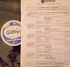 Radio Show: LIVE FROM GILLEY'S: MOE BANDY  3/7/88  LIVE IN CONCERT 15 TUNES