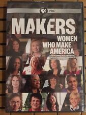 PBS: Makers: Women Who Make America DVD Hillary Clinton & Others- Factory Sealed