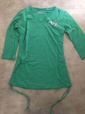 Women's Von Zipper 3/4 Sleeve Top Size 10