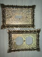 Antique Light Switch Plate & Outlet Cover Set