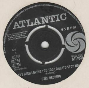 Otis Redding I've been loving you too long  Atlantic AT 4039 VG+