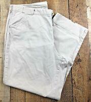"""Columbia Sportswear Women's Tan Cotton Capri Pants Size 14. 32x24 Rise 11"""""""
